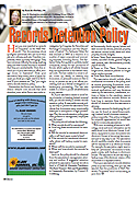 Records Retention Policy, By Anne Sheehan, CPA